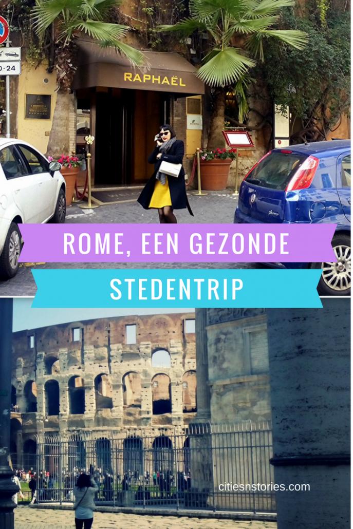 rome gezonde stedentrip
