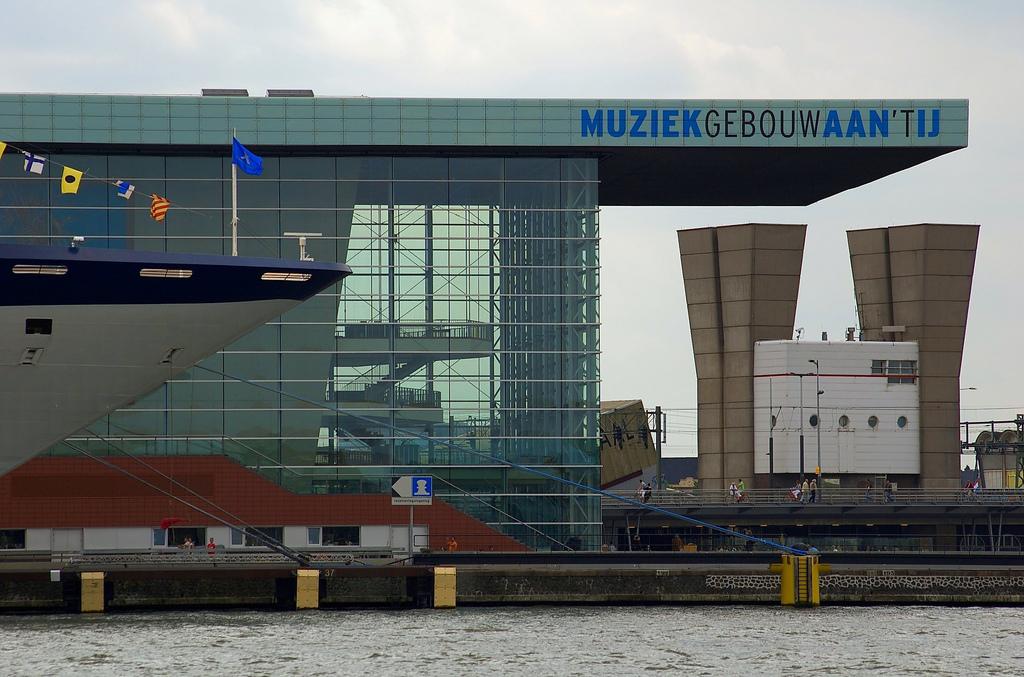 Muziekgebouw IJ Amsterdam