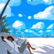 Life is a beach sometimes Pascal Campion