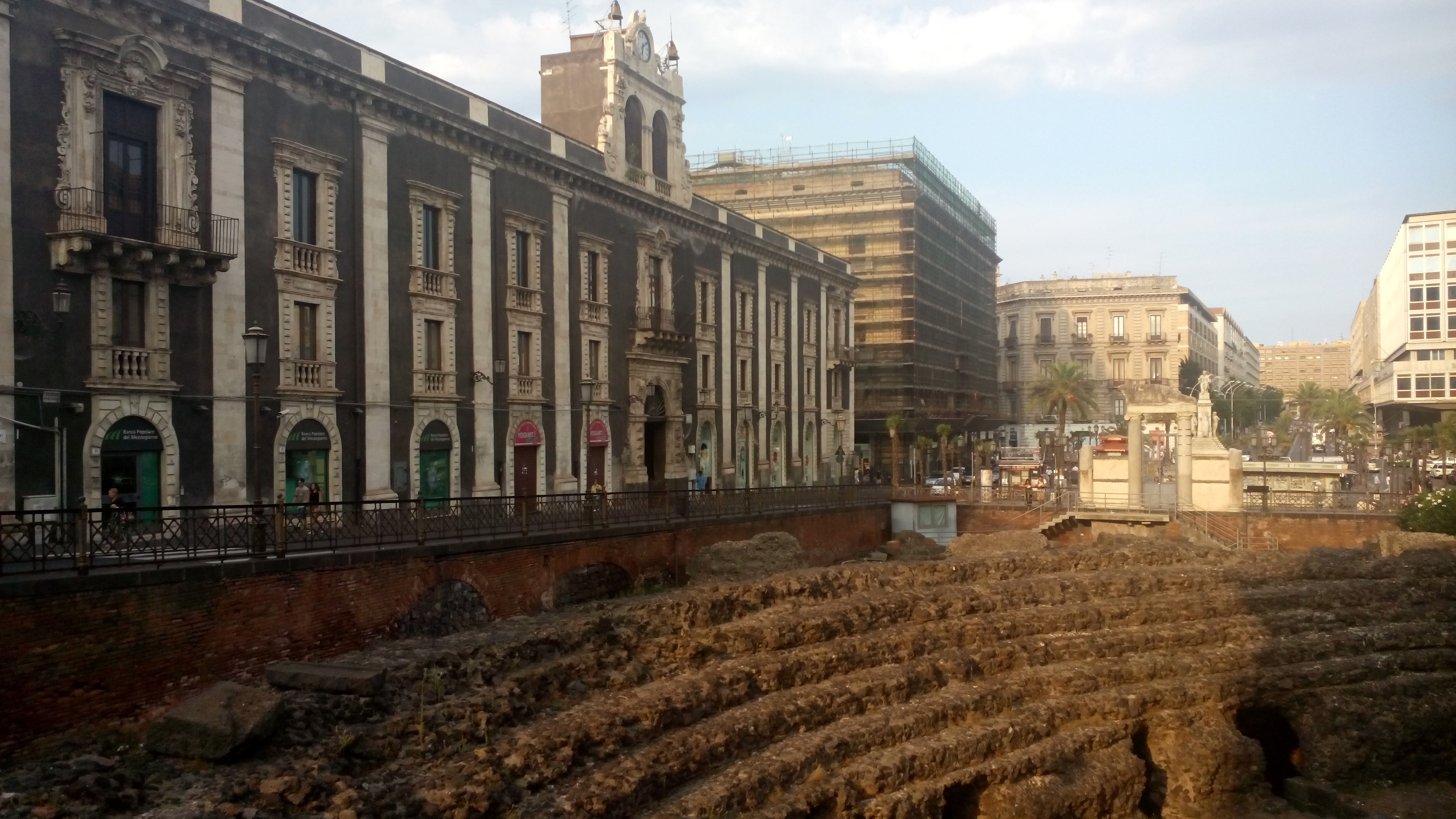 doen in Catania amfitheater