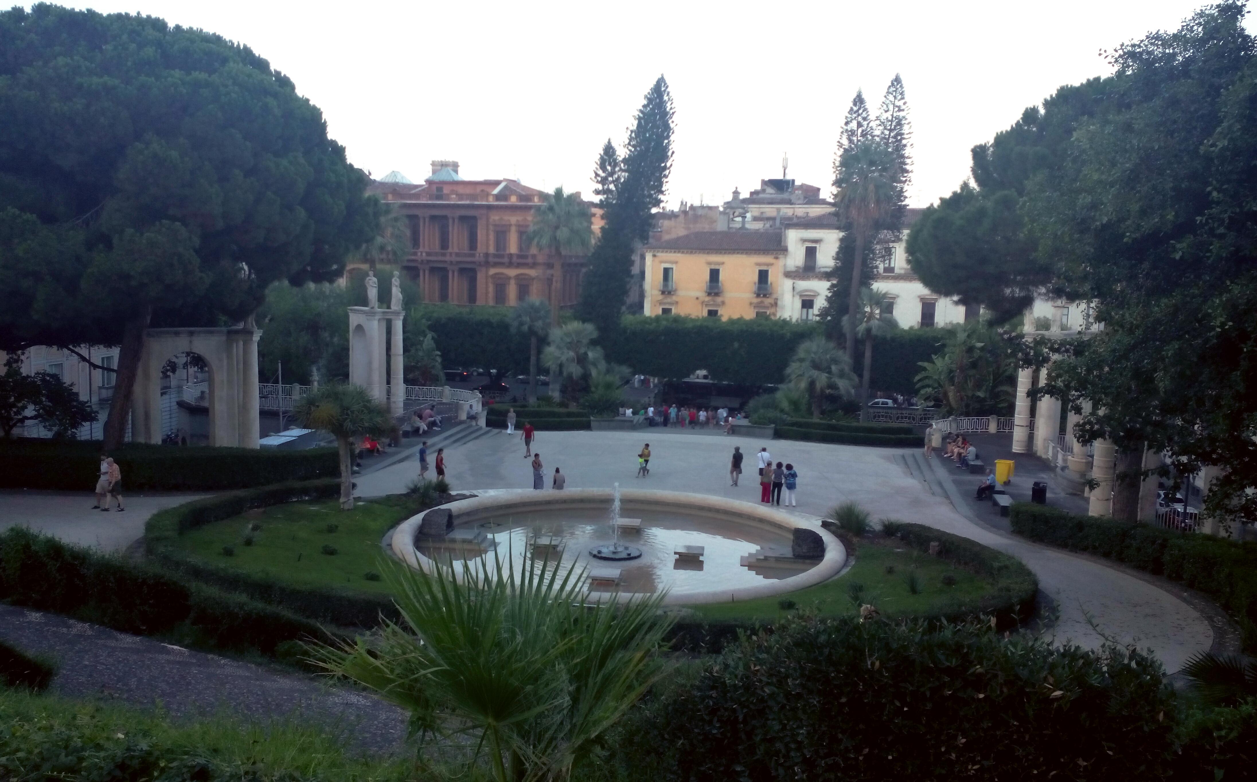 villa Bellini Catania