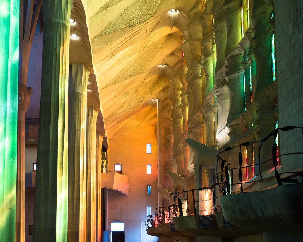 Sagrada Familia lichtinval