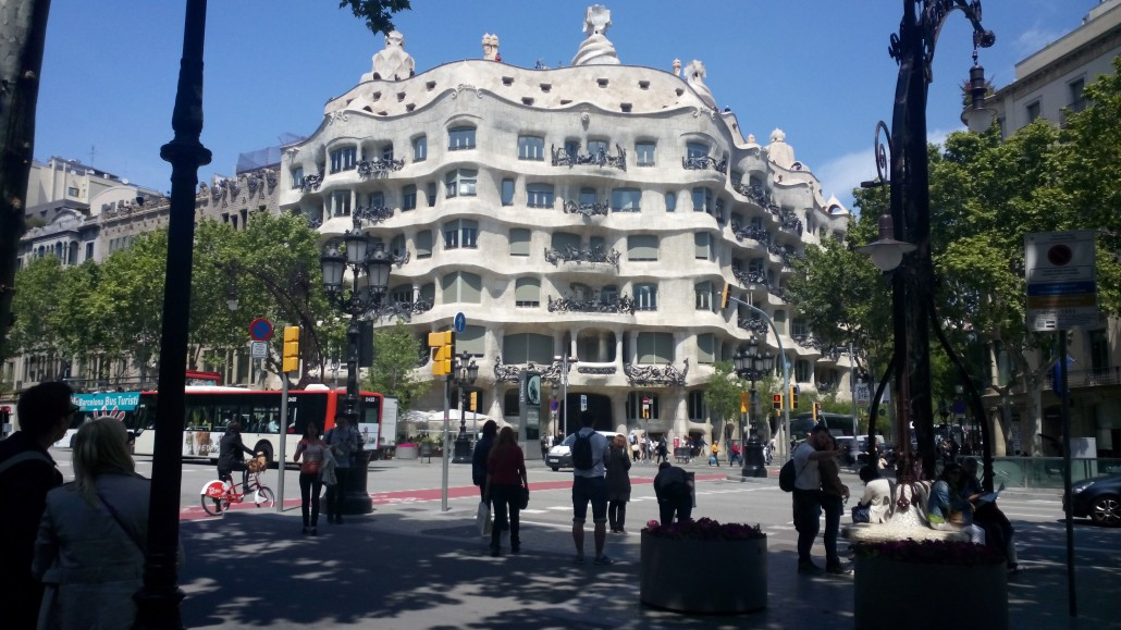 Barcelona la pedrera