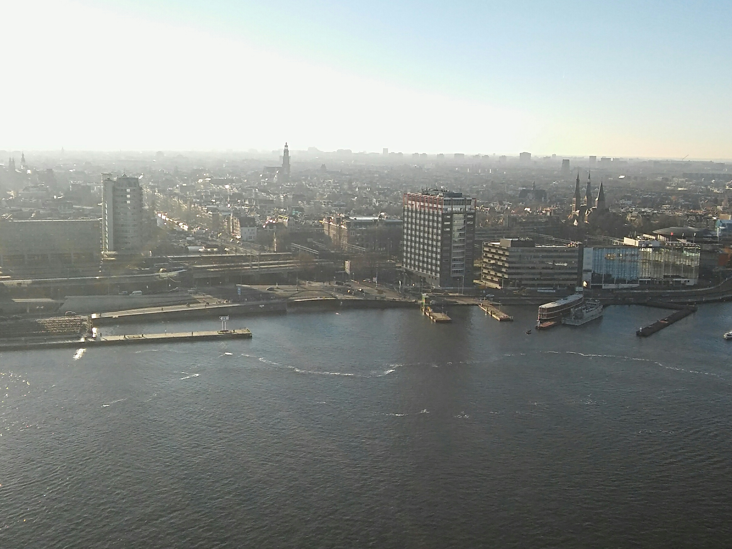 Amsterdam Lookout City view