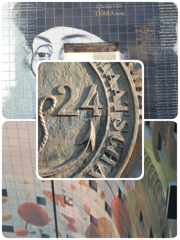 Erasmus en kunst Rotterdam