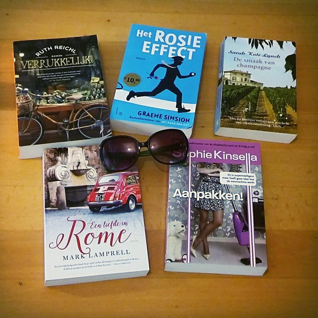 boeken voor op reis