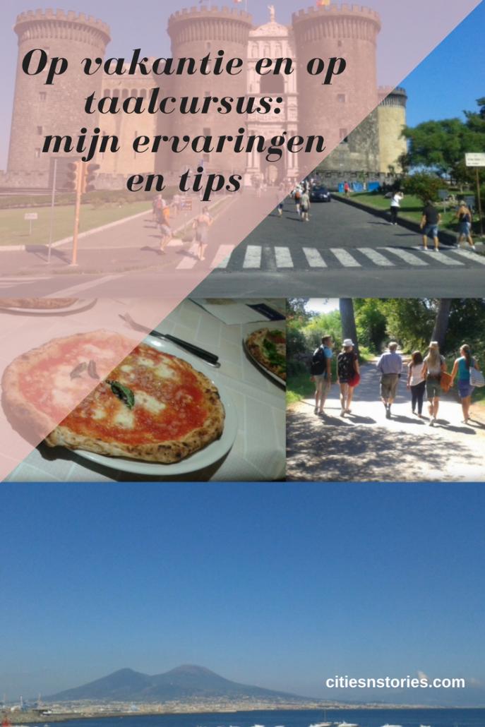 taalcursus vakantie