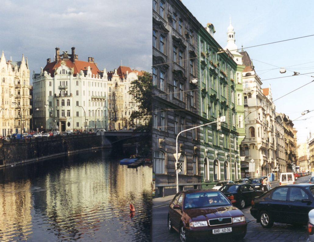 Praag city