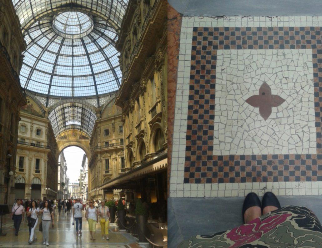 Milaan Galleria Vittorio Emmanuele