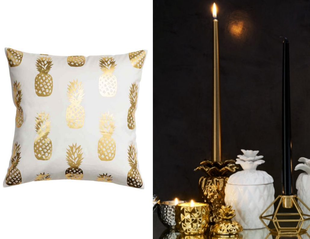 H&M home ananas