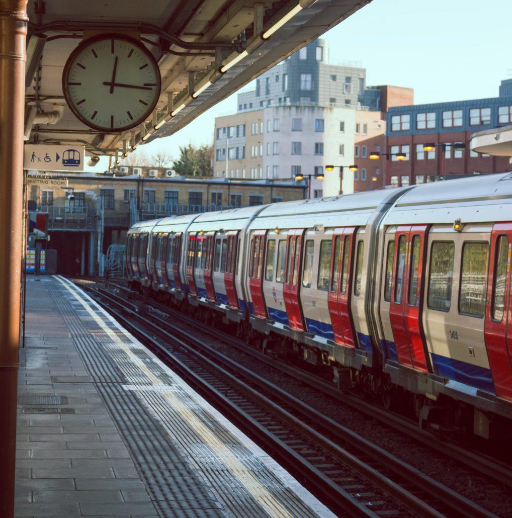 trein stadscentrum