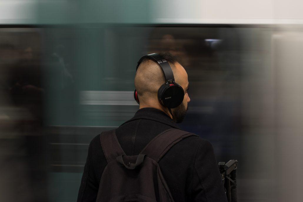 muziek luisteren hem