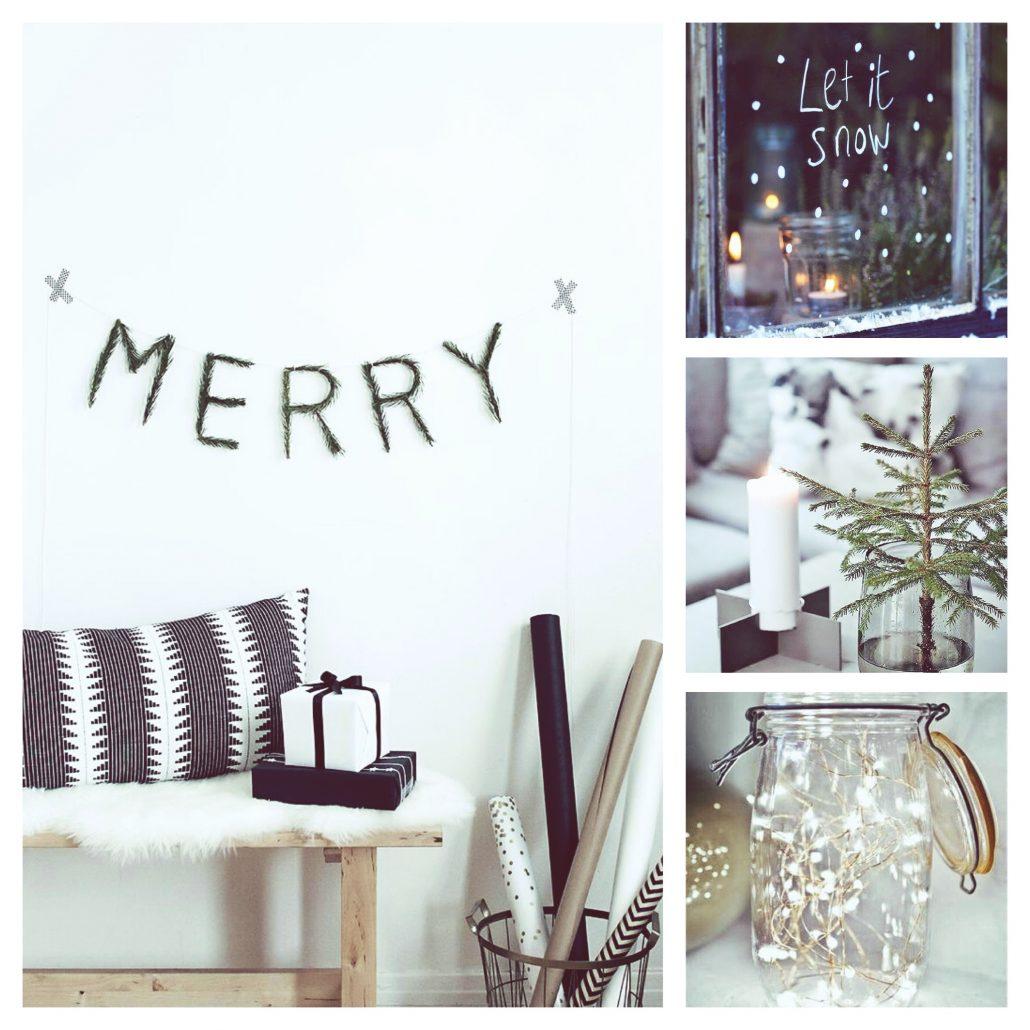 minimalistische kerst