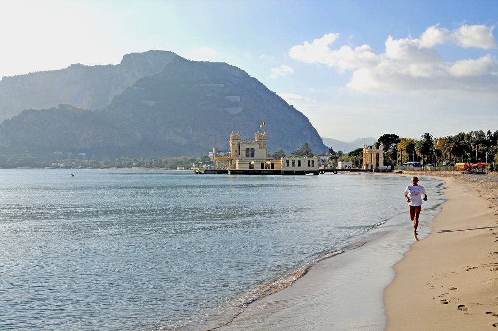 Palermo zee strand