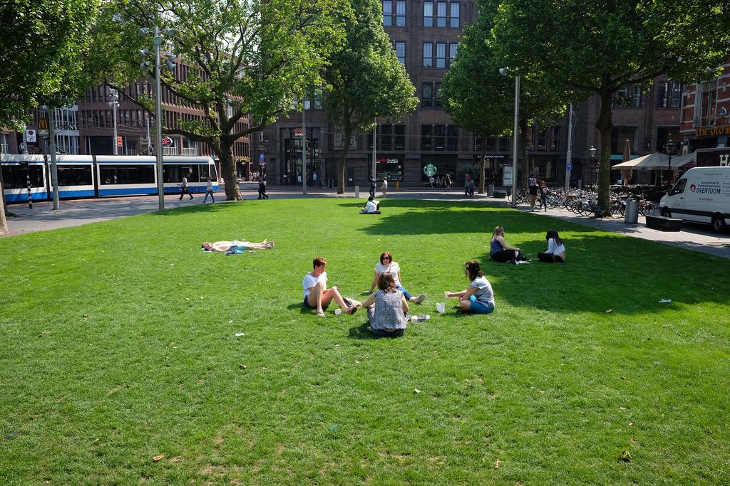 Rembrandtplein summer