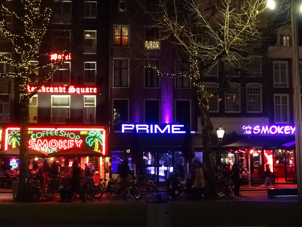 Rembrandtplein night