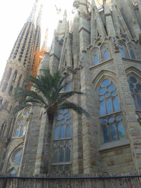 Sagrada Famiglia facade
