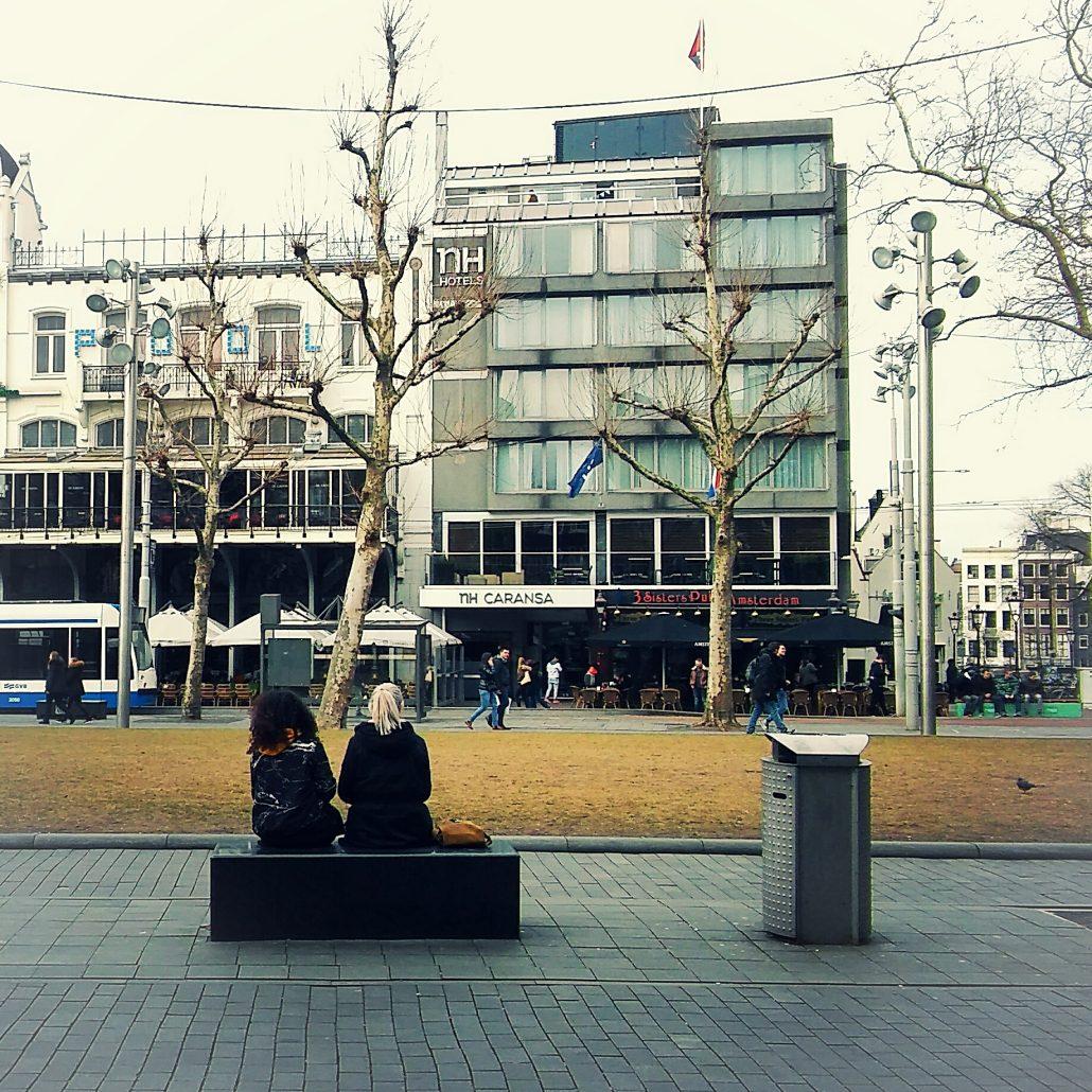 Rembrandtplein winter