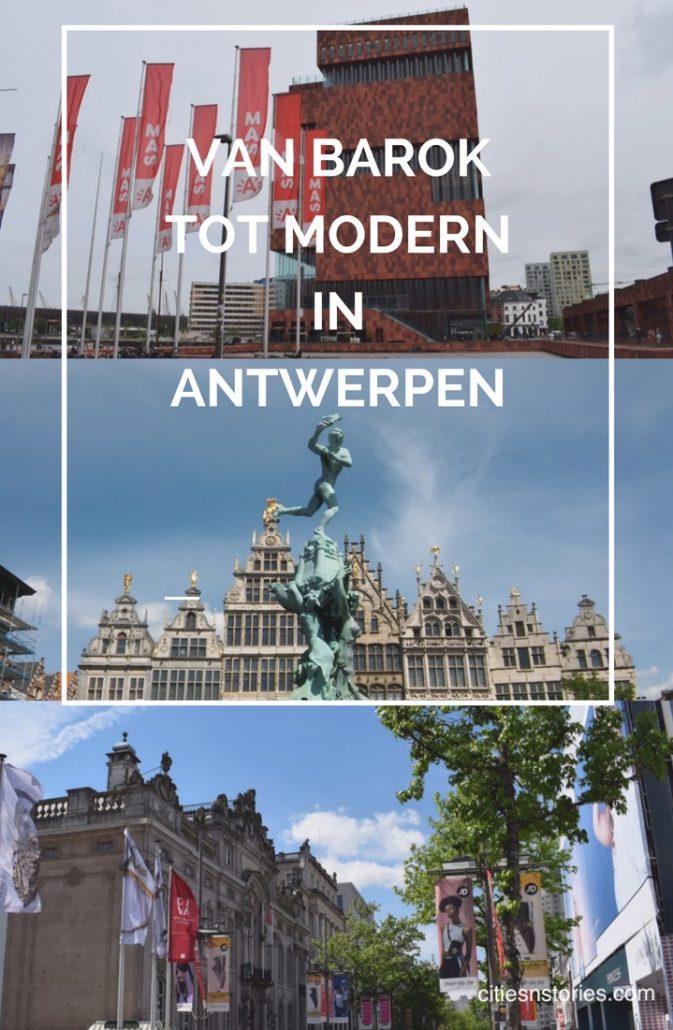 van barok tot modern in Antwerpen