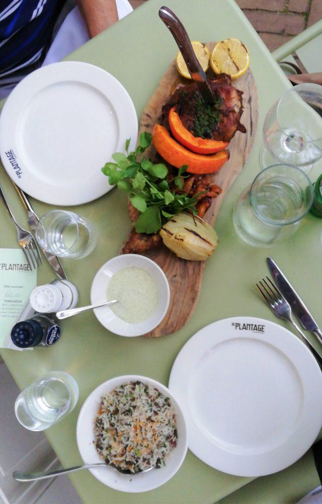plantage restaurant