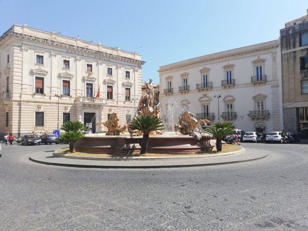 piazza Archimede Ortigia