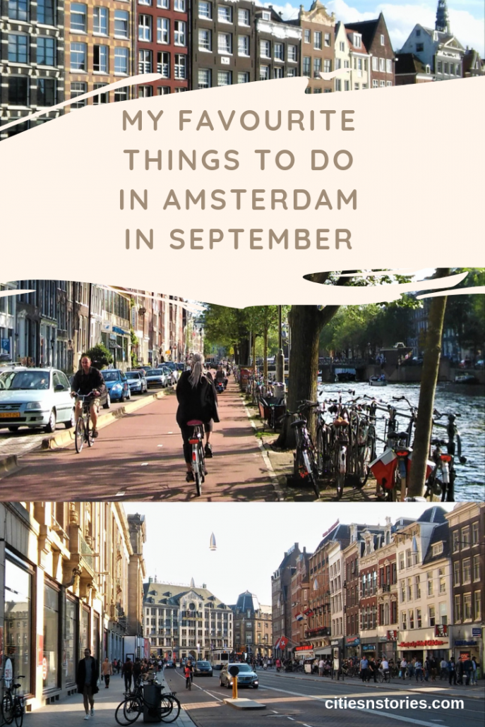 favourites amsterdam september