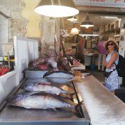 Sicilië vismarkt
