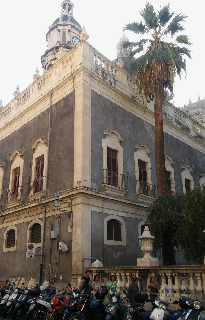 Sicilië tijd Catania
