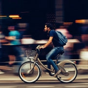 fietsen stad