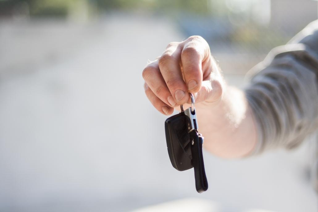 autohuren sleutels