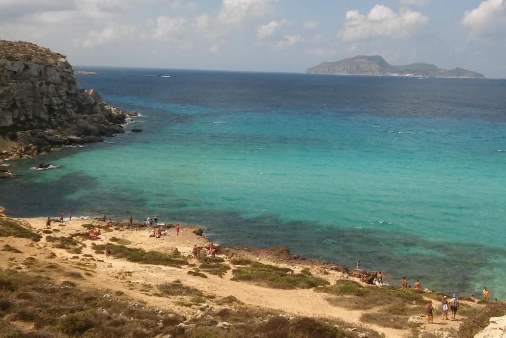 zee Sicilie zomer