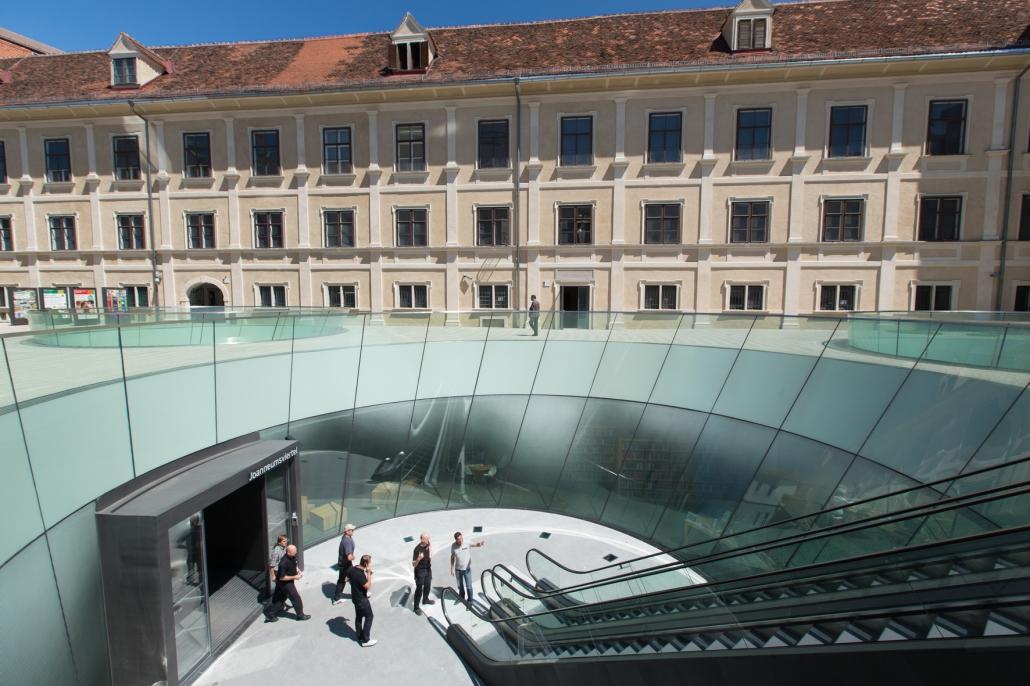 Joanneum kwartier design Graz