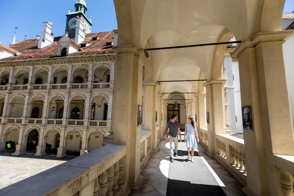 Landhaus architectuur Graz