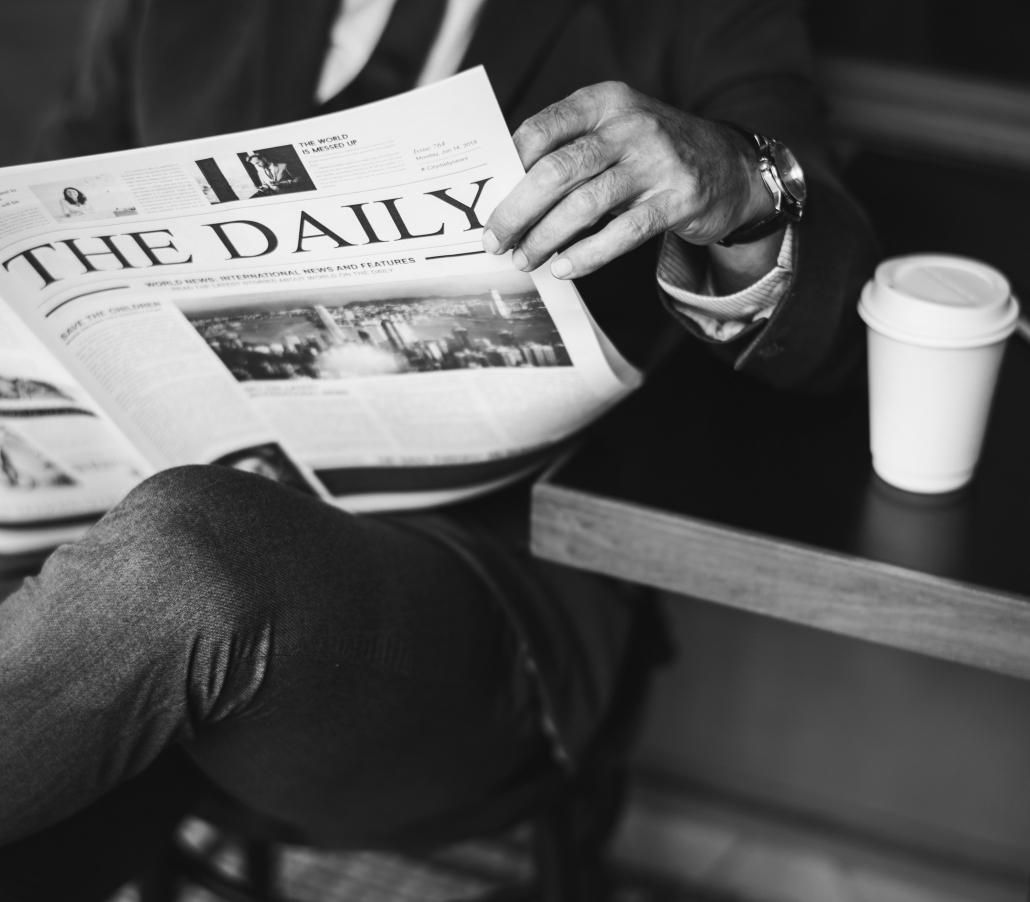 koffie krantje