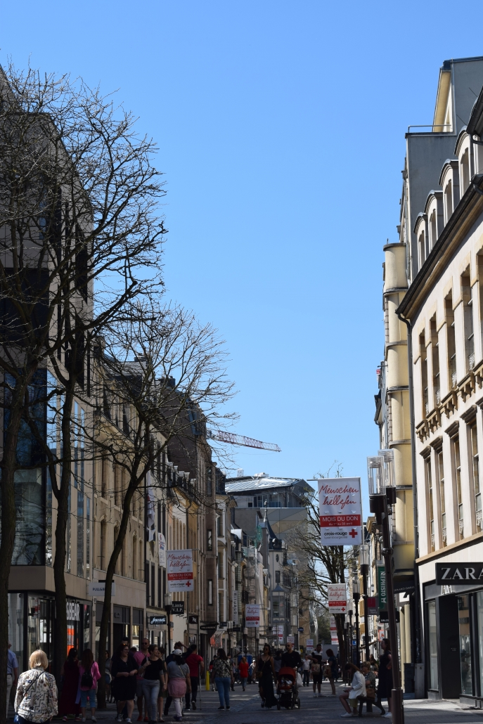 luxemburg shoppen
