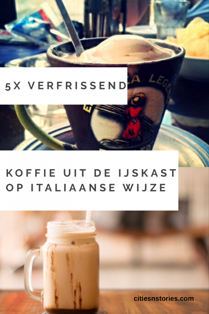koffie ijskoud italiaans