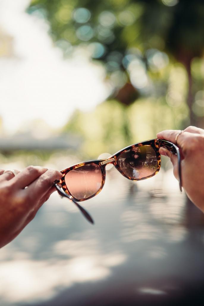 zonnebril zomergevoel