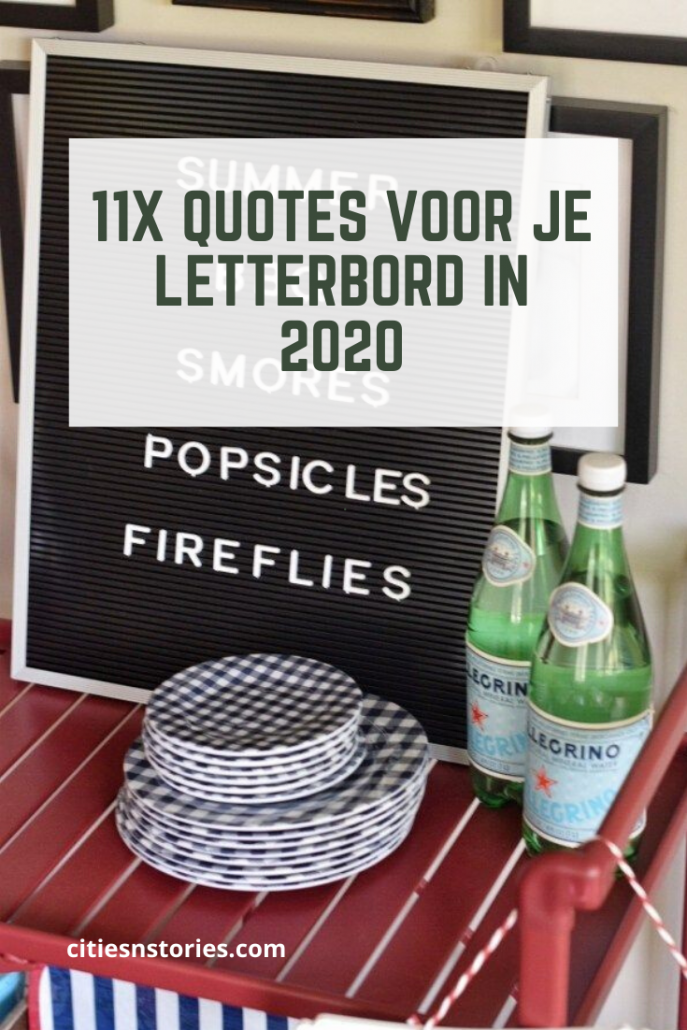 letterbord quote