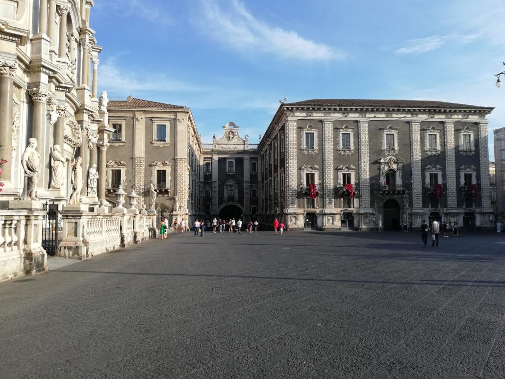 Catania Sicilie plein