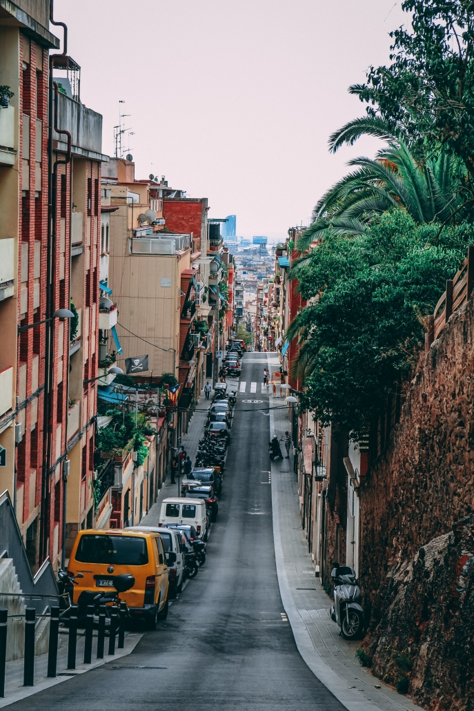 Barcelona straat