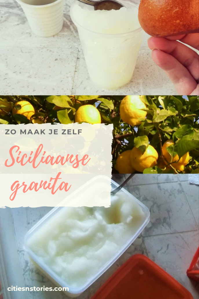 Siciliaanse granita