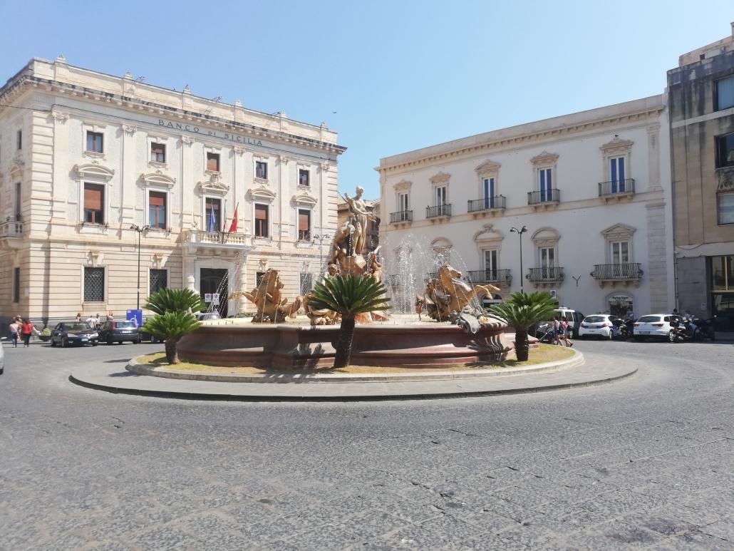 Ortigia fontein