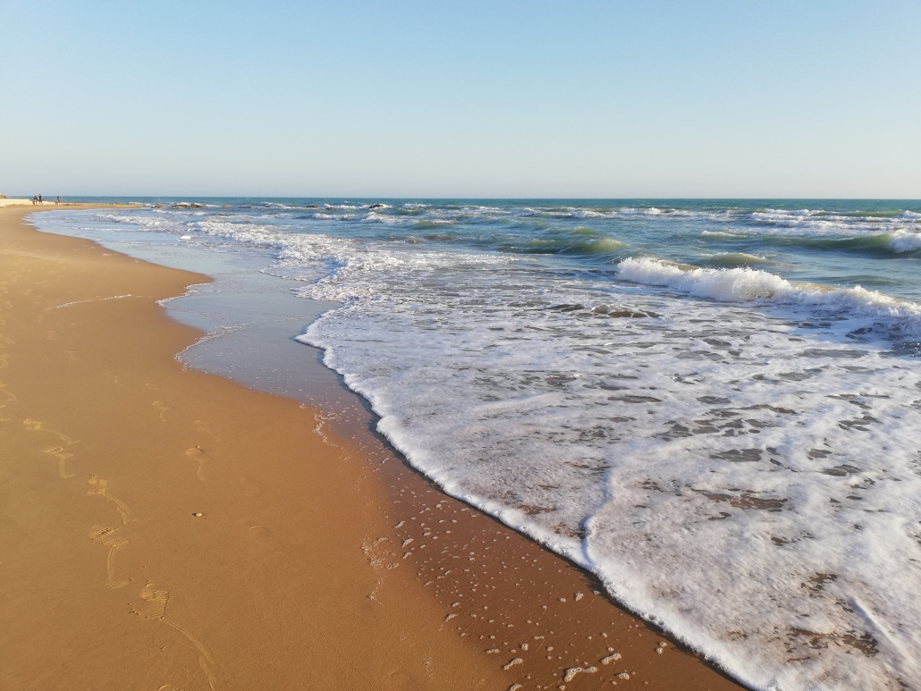 Siculiana marina Sicilie strand