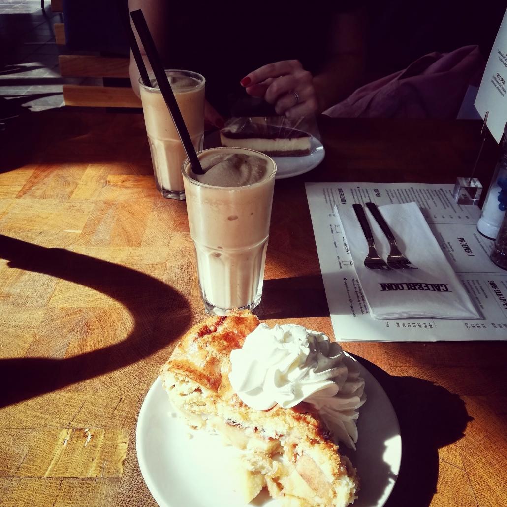 koffie en appeltaart