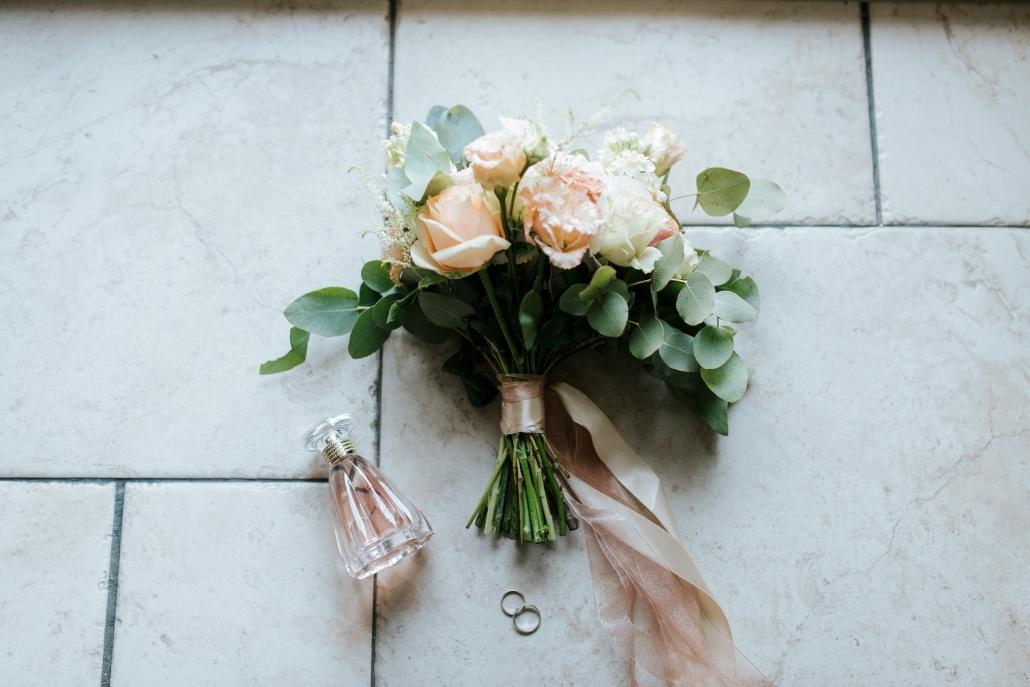 bloemen ringen trouwen