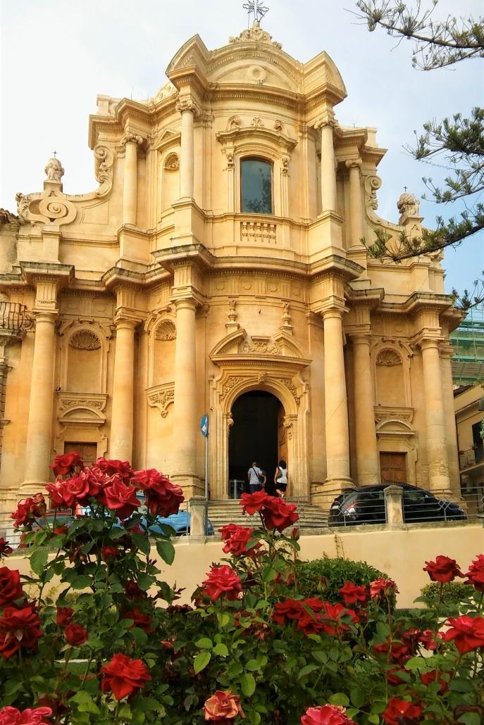 Kerk Noto Sicilie