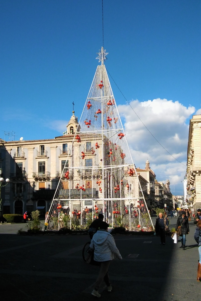 kerstdecoratie winter catania