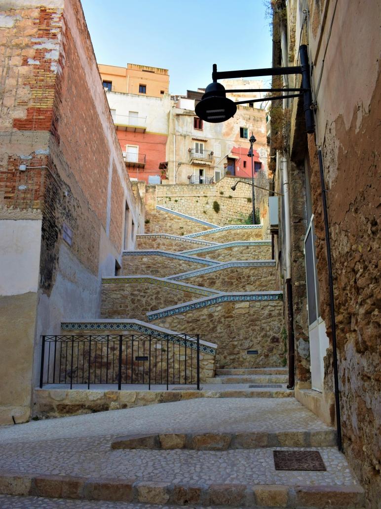sciacca trappen Sicilie