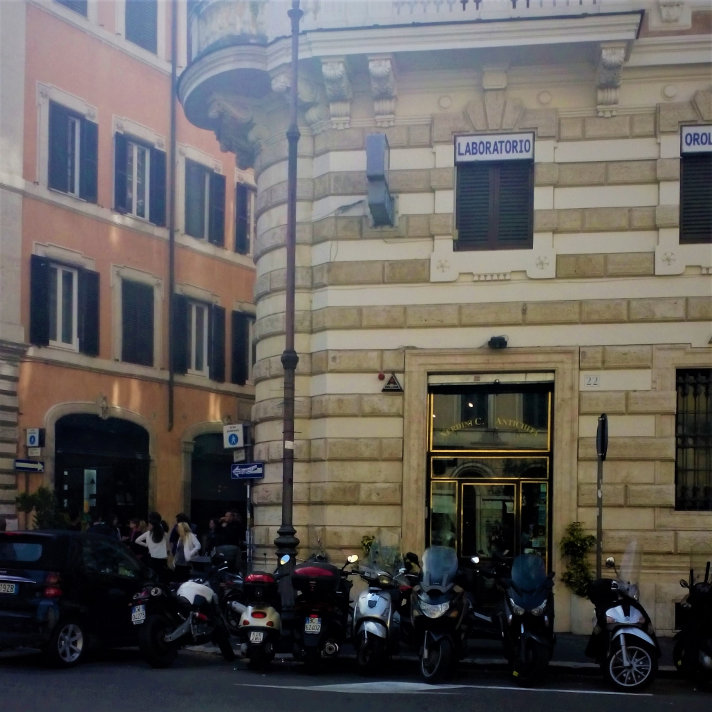 scooters Rome straat