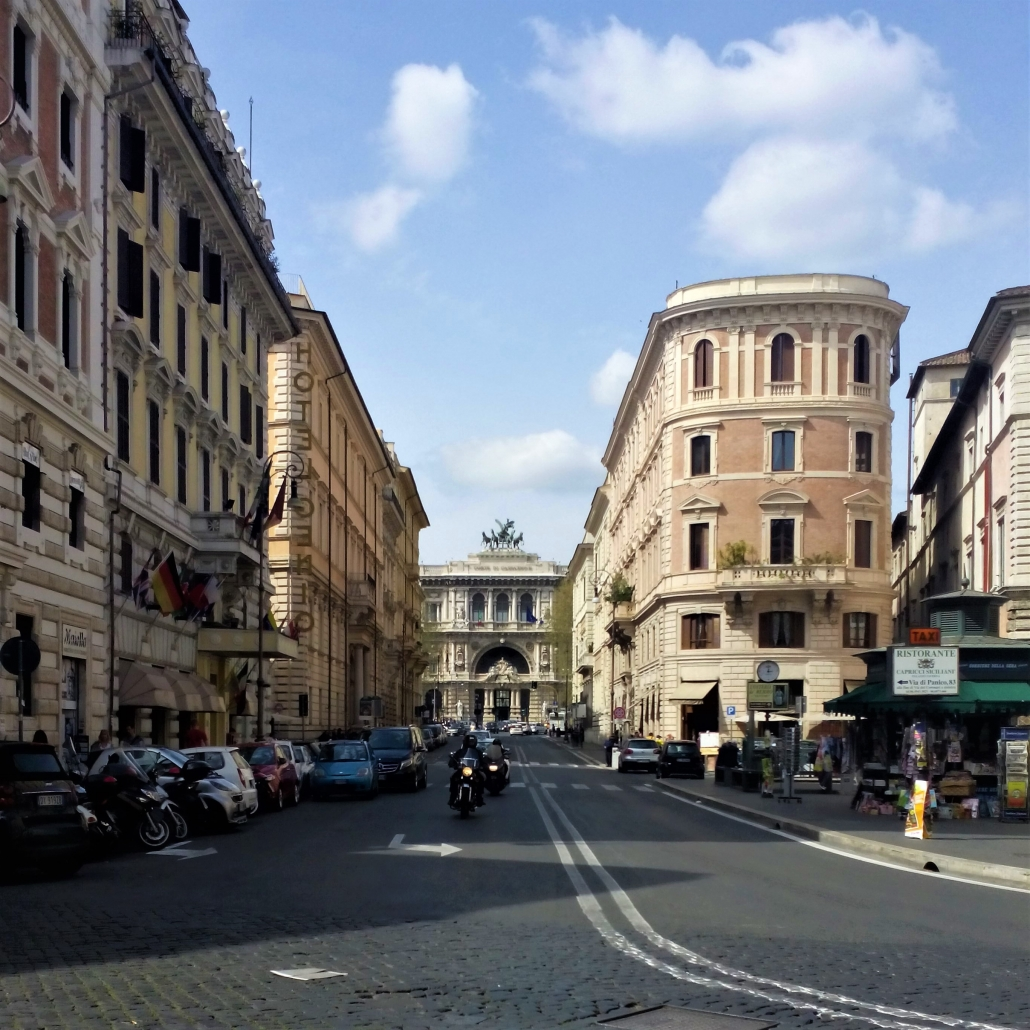 Rome straten